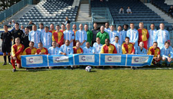 John Gurney Memorial Match 2014 at Butlin Road - Rugby Town FC