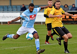 Ruben Wiggins-Thomas - Rocester 2-3 Rugby Town - November 2017
