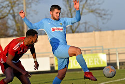 Cain Thomas -  Rugby Town 1-3 Quorn - January 2020