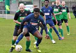 Jamal Clarke - Sleaford Town 1-2 Rugby Town - March 2020