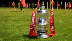 FA Cup Draw - Rugby Town FC