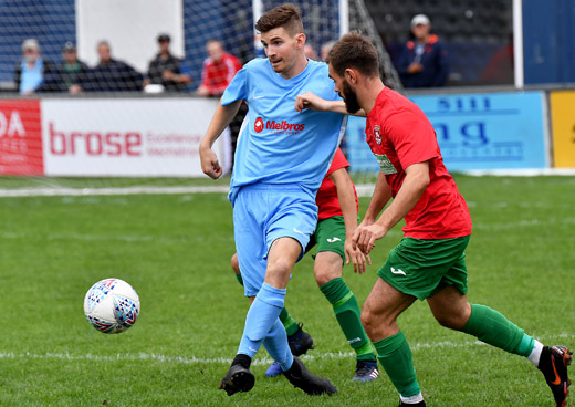 Charlie Evans - Coventry United 1-2 Rugby Town - August 2018 - FA Cup Extra Preliminary Round