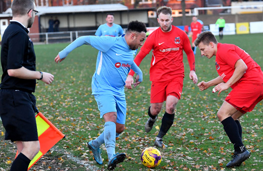 Lewis Rankin - Pinchbeck United 0-3 Rugby Town - November 2018